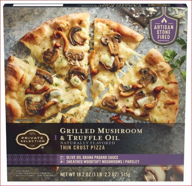Frozen Pizza, Private Selection® Grilled Mushroom & Truffle Oil Pizza (18.2 oz Box)