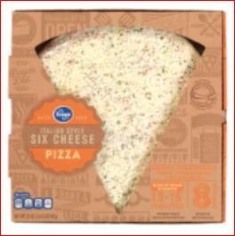 Fresh Pizza, Kroger® Fresh Six Cheese Pizza (35 oz Box)