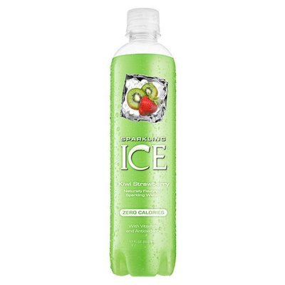 Sparkling Water, Sparkling Ice® Kiwi Strawberry (Single 17 oz Bottle)