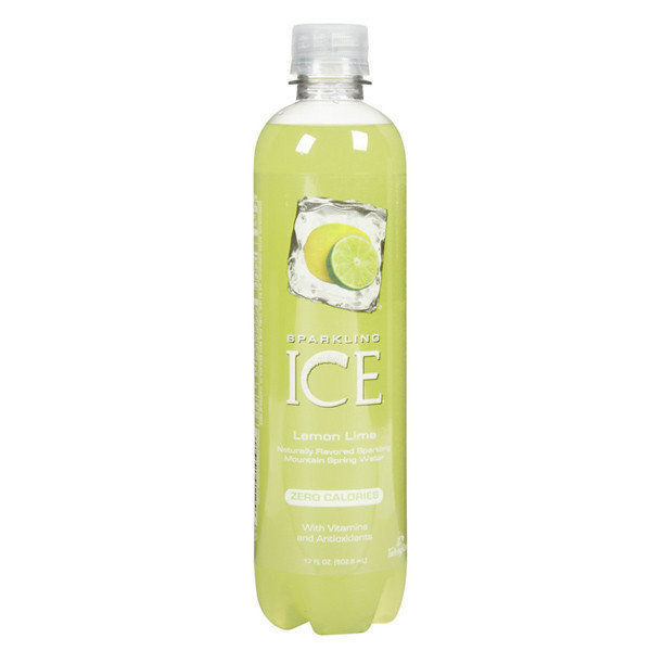 Sparkling Water, Sparkling Ice® Lemon Lime (Single 17 oz Bottle)