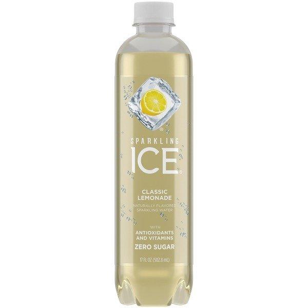 Flavored Water, Sparkling Ice® Lemonade (Single 17 oz Bottle)