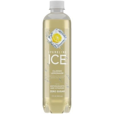 Flavored Water, Sparkling Ice® Lemonade (Single 17 oz Bottle)