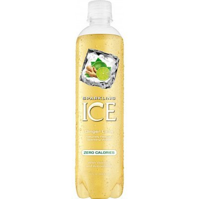 Sparkling Water, Sparkling Ice® Ginger Lime (Single 17 oz Bottle)