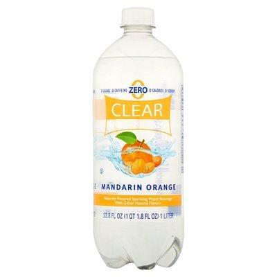 Sparkling Water, Clear American® Mandarin Orange (33.8 oz Bottle)