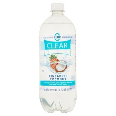 Sparkling Water, Clear American® Pineapple Coconut (33.8 oz Bottle)