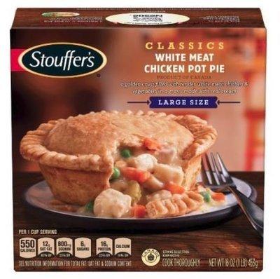 Pot Pie, Stouffer's® Large White Meat Chicken Pot Pie (16 oz Box)