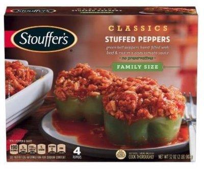Frozen Dinner, Stouffer's® Stuffed Peppers (32 oz Box)