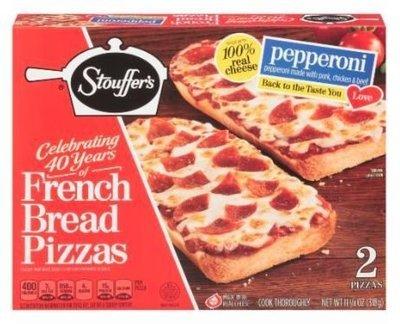 Pizza Bread, Stouffer's® Pepperoni French Bread Pizza (11.25 oz Box)