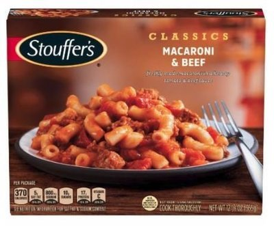 Mac N Cheese Dinner, Stouffer's® Macaroni & Beef (12.875 oz Box)