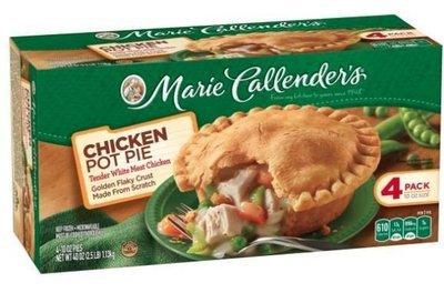 Pot Pie, Marie Callender's® Chicken Pot Pie (4 Pack, 10 oz Each)
