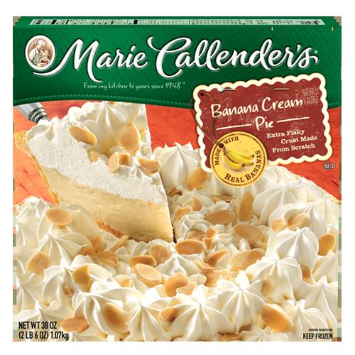 Pie, Marie Callender's® Banana Cream Pie (38 oz Box)