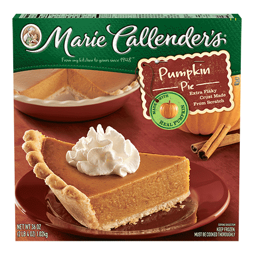 Pie, Marie Callender's® Pumpkin Pie (36 oz Box)