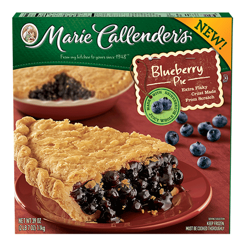 Pie, Marie Callender's® Blueberry Pie (39 oz Box)