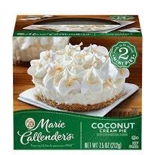 Pie, Marie Callender's® 2 Mini Coconut Cream Pies (7.5 oz Box)