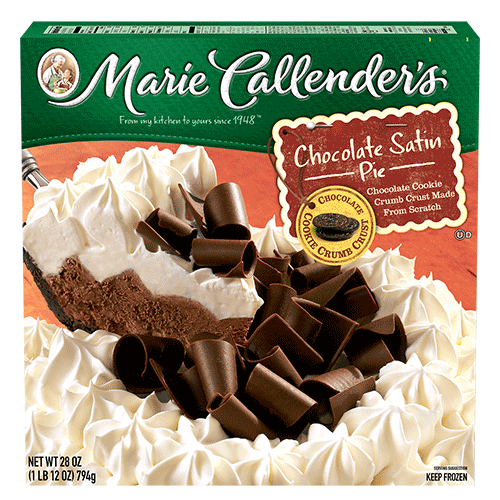 Pie, Marie Callender's®Chocolate Satin Pie (28 oz Box)