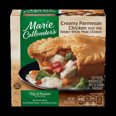 Pot Pie, Marie Callender's® Creamy Parmesan Chicken Pot Pie (16 oz Box)