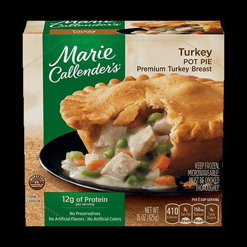 Pot Pie, Marie Callender's® Turkey Pot Pie (16 oz Box)