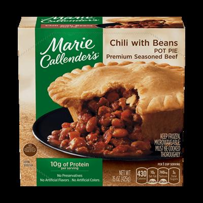 Pot Pie, Marie Callender's® Chili Pot Pie with Beans (13 oz Box)