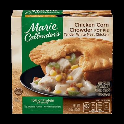 Pot Pie, Marie Callender's® Chicken Corn Chowder Pot Pie (16 oz Box)