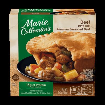 Pot Pie, Marie Callender's® Beef Pot Pie (16 oz Box)