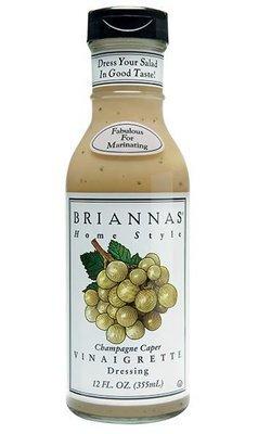 Salad Dressing, Brianna's® Champagne Caper Vinaigrette (12 oz Bottle)