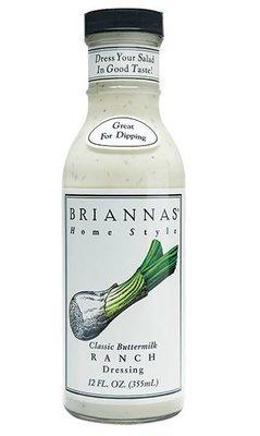 Salad Dressing, Brianna's® Buttermilk Ranch Salad Dressing (12 oz Bottle)