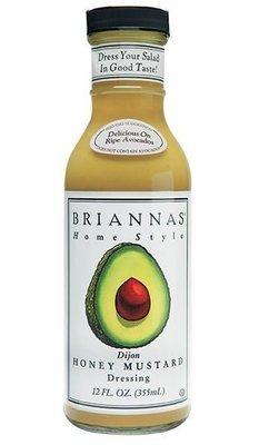 Salad Dressing, Brianna's® Honey Dijon Mustard Salad Dressing (12 oz Bottle)