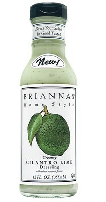 Salad Dressing, Brianna's® Creamy Cilantro Lime Salad Dressing (12 oz Bottle)