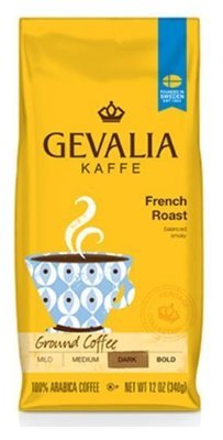 Ground Coffee, Gevalia® French Roast Ground Coffee (12 oz Bag)