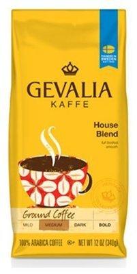 Bean Coffee, Gevalia® House Blend Whole Bean Coffee (12 oz Bag)