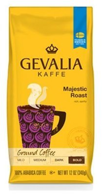 Ground Coffee, Gevalia® Majestic Roast Ground Coffee (12 oz Bag)