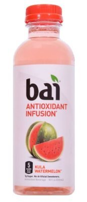Juice Drink, Bai® Kula Watermelon (18 oz Bottle)