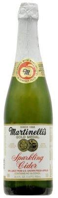 Apple Juice, Martinelli's® Sparkling Apple Cider (25.4 oz Bottle)