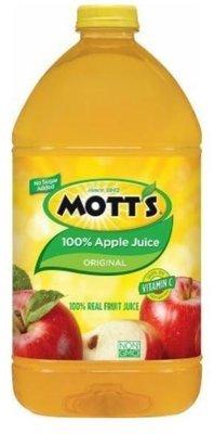 Apple Juice, Mott's® 100% Apple Juice (128 oz Bottle)