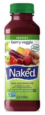 Juice Drink, Naked Juice® Berry Veggie® (15.2 oz Bottle)
