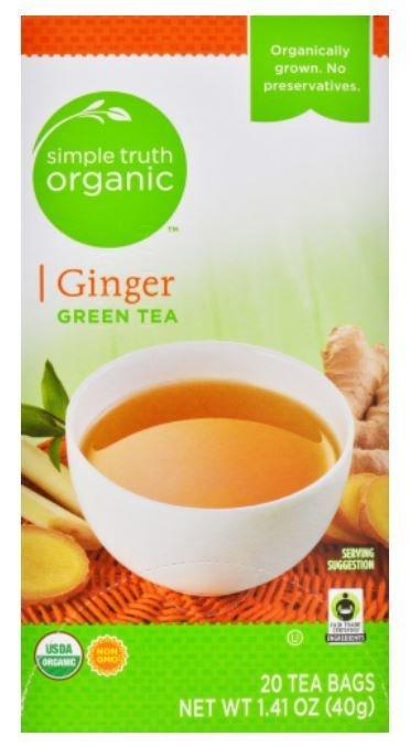Tea, Simple Truth Organic™ Green Ginger Tea (20 Bags, 1.41 oz Bags)
