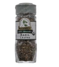 Seasonings, McCormick Gourmet® Basil Leaves (.55 oz Jar)