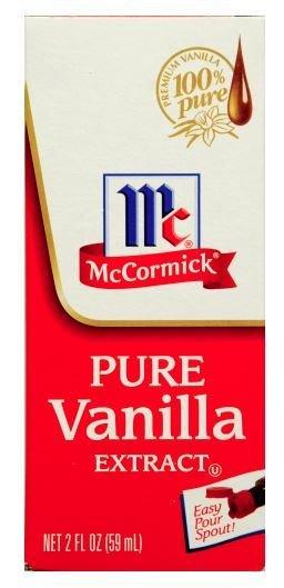Seasonings, McCormick® Pure Vanilla Extract (2 oz Bottle)