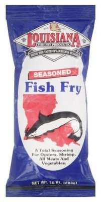 Breading, Louisiana® Seasoned Fish Fry Mix (10 oz Bag)