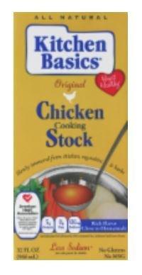 Boxed Broth, Kitchen Basics® Chicken Stock (32 oz Carton)