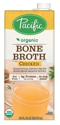 Boxed Organic Broth, Pacific® Organic Chicken Bone Broth (32 oz Box)