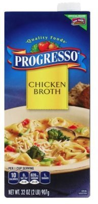 Boxed Broth, Progresso® Chicken Broth (32 oz Carton)