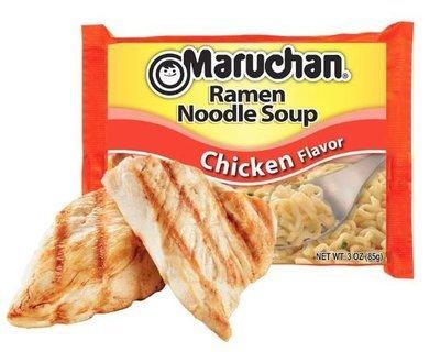 Ramen, Maruchan® Ramen with Chicken Flavor Noodle Soup (3 oz Bag)