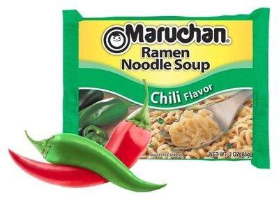 Ramen, Maruchan® Ramen with Chili Flavor Noodle Soup (3 oz Bag)