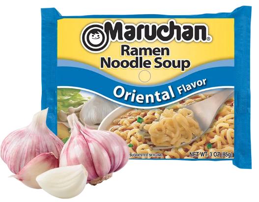 Ramen, Maruchan® Ramen with Oriental Flavor Noodle Soup (3 oz Bag)