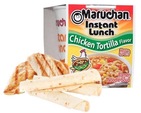 Ramen, Maruchan® Instant Lunch® Chicken Tortilla Ramen (2.25 oz Cup)