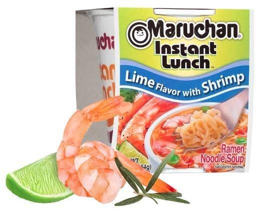 Ramen, Maruchan® Instant Lunch® Lime Shrimp Ramen (2.25 oz Cup)