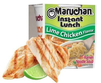 Ramen Maruchan® Instant Lunch® Lime Chicken Ramen (2.25 oz Cup)