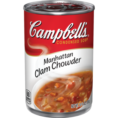 Canned Soup, Campbell's® Condensed® Manhattan Clam Chowder (10.5 oz Can)