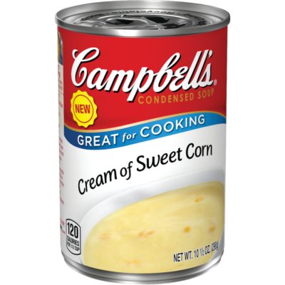 Canned Soup, Campbell's® Condensed® Cream of Sweet Corn Soup (10.5 oz Can)